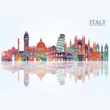 """Защитное стекло """"Цвет Италии"""" 600*600*4 мм"""