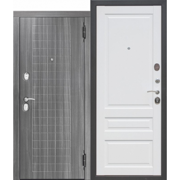 10,5 см. Гарда МДФ/МДФ Грей/Белый матовый Царга (860) левая (уценка)