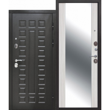 12 см Сенатор Зеркало Белый ясень (960) левая (уценка)