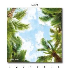 """04129 Дизайн- панели PANDA """"Небо"""" Панно 8 шт"""