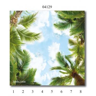 """04129 Дизайн-панели PANDA """"Небо"""" Панно 8 шт"""