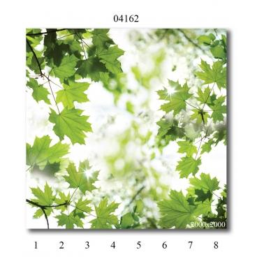 """04162 Дизайн-панели PANDA """"Листья"""" Панно 8 шт"""