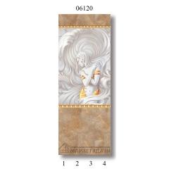 """06120 Дизайн-панели PANDA """"Каменная княжна"""" Панно 4 шт"""