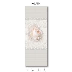"""06550 Дизайн-панели PANDA """"Эдем"""" Панно 4 шт"""