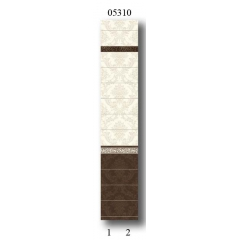 "05310 Дизайн-панели PANDA ""Шоколад"" Фон 2 шт"
