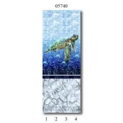 """05740 Дизайн-панели PANDA """"Атлантика"""" Панно 4 шт"""