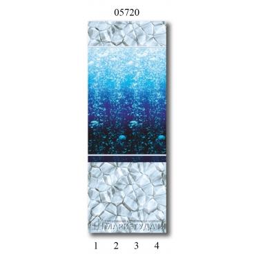 "05720 Дизайн-панели PANDA ""Атлантика"" Фон 4 шт"
