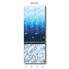 "05710 Дизайн-панели PANDA ""Атлантика"" Фон 4 шт"