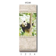 """05240 Дизайн-панели PANDA """"Панда"""" Панно 4 шт"""