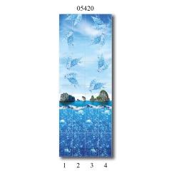 """05420 Дизайн-панели PANDA """"Всплеск эмоций"""" Панно 4 шт"""