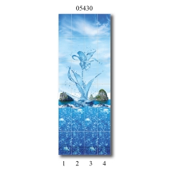 """05430 Дизайн-панели PANDA """"Всплеск эмоций"""" Панно 4 шт"""