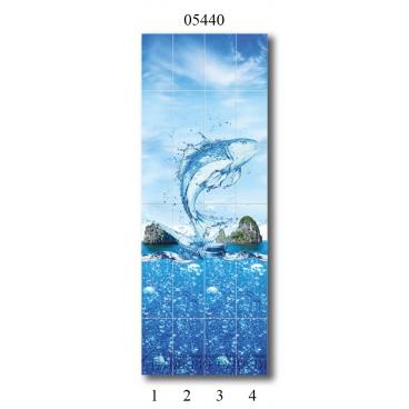 """05440 Дизайн-панели PANDA """"Всплеск эмоций"""" Панно 4 шт"""