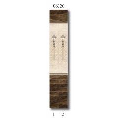 """06320 Дизайн-панели PANDA """"Вечер в Голландии"""" Панно 2 шт"""