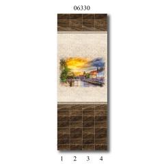 """06330 Дизайн-панели PANDA """"Вечер в Голландии"""" Панно 4 шт"""