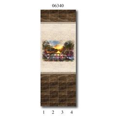 """06340 Дизайн-панели PANDA """"Вечер в Голландии"""" Панно 4 шт"""