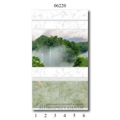 """06220 Дизайн-панели PANDA """"Тайна природы"""" Панно 6 шт"""