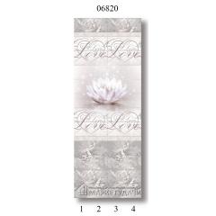 """06820 Дизайн-панели PANDA """"Романтика"""" Панно 4 шт"""