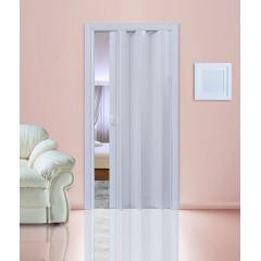 """Дверь - гармошка """"Стиль"""". Цвет Белый матовый"""