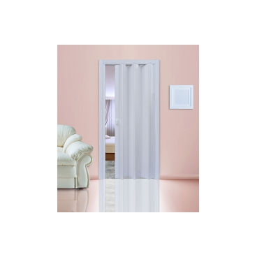 """Дверь - гармошка """"Стиль"""". Цвет Белый глянец"""