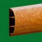 Наличник ПВХ миланский орех с бликом