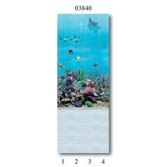 """03840 Дизайн-панели PANDA """"Подводный мир"""" Панно 4 шт"""