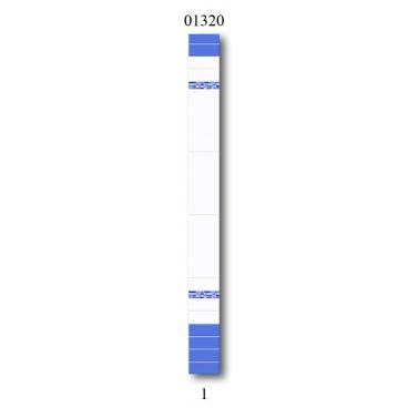 """01320 Дизайн-панели PANDA """"Синий цветок"""" Фон 1 шт"""
