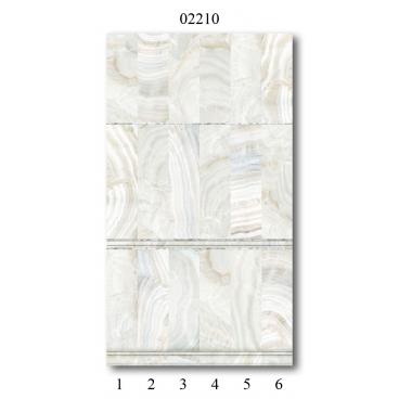 "02210 Дизайн-панели PANDA ""Оникс"" Панно 6 шт"