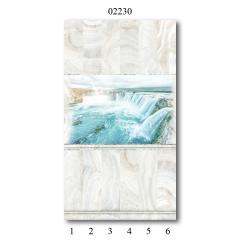 "02230 Дизайн-панели PANDA ""Оникс"" Панно 6 шт"