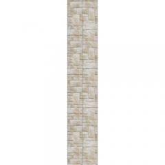 """Панель ПВХ LUX """"Дикий камень"""" (панно, 2 панели)"""