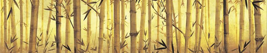 Кухонный фартук АБС Заросли бамбука