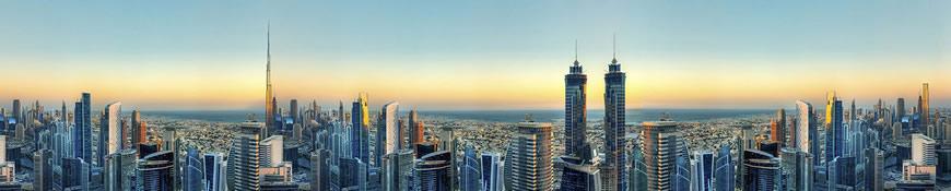 Кухонный фартук АБС Дубай