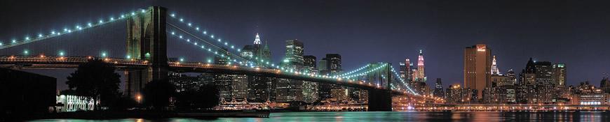 Кухонный фартук АБС Бруклинский мост