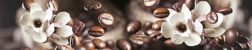 Кухонный фартук АБС Кофейный аромат