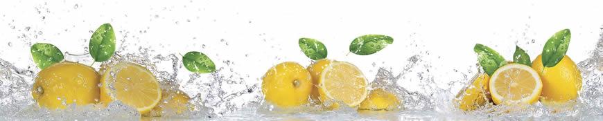Кухонный фартук АБС Лимонная свежесть