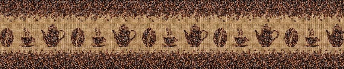 Кухонный фартук АБС Кофейные зерна