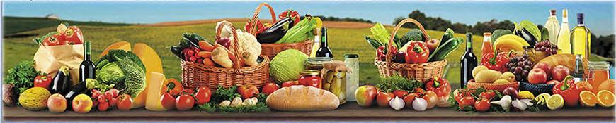 Кухонный фартук АБС Урожай