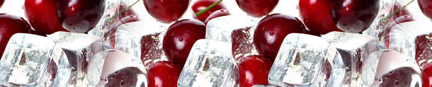 Кухонный фартук АБС Вишня на льду