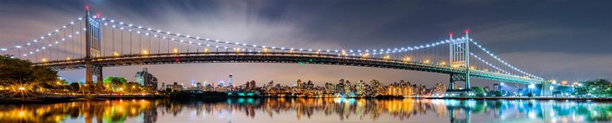 Кухонный фартук АБС Мост Ист-Ривер