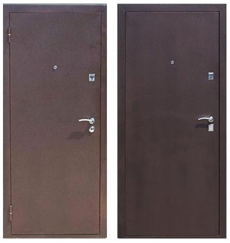 Входная дверь Стройгост 7-2 Металл/металл 3 петли 860L минвата